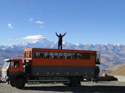 Mt Everest in Tibet - Istanbul to Kathmandu adventure tour