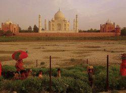 Taj Mahal in India - Istanbul to Singapore Asian Adventure Tour