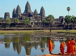 Angkor Wat in Cambodia - Madventure Istanbul to Singapore Asian Tour