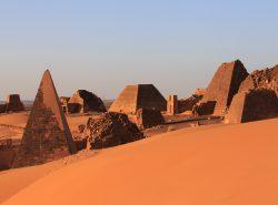 Meroe Pyramids, Sudan (2)