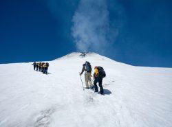Villarrica volcano climb, Chile