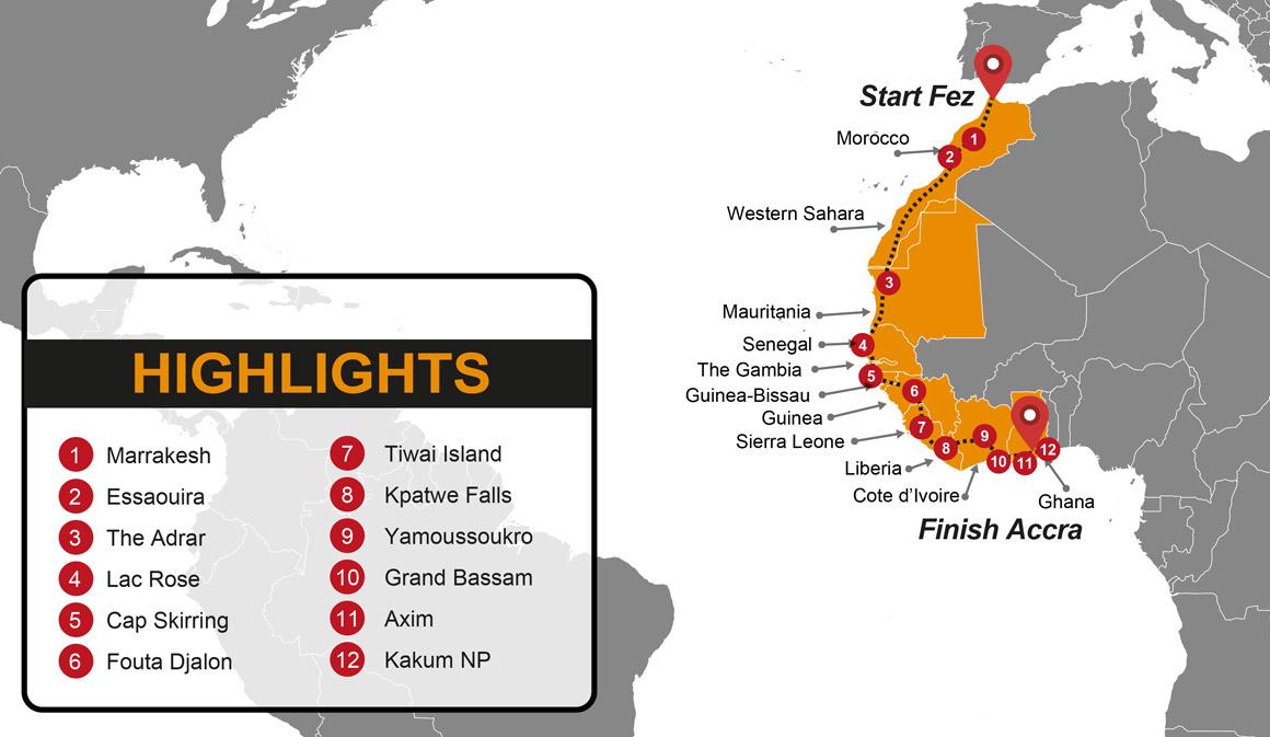 Morocco To Ghana Overland Tour Madventure Budget Overland Tours